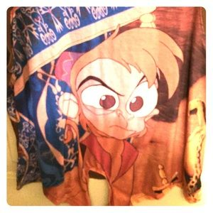 Disney Abu tank top with tie front